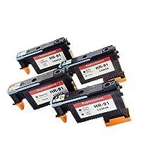 Komada HP91 Printhead (1MK/C+1PK/LG+1M/Y+1LC/LM) Compatible for Designjet Z6100 Z6100P C9460A