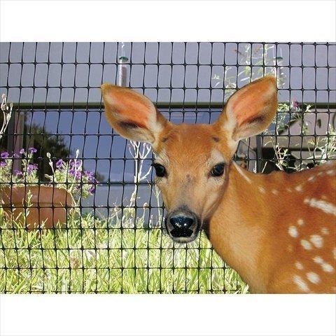 TekSupply 109756 Deer Fence & Bird Netting Poly Mesh 10 ft x 350 ft by TekSupply