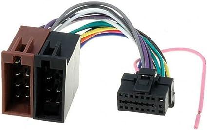 Amazon.com: Alpine 16 Pin to ISO Lead Wiring Loom Power ... on