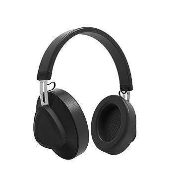 DUHOULI Auriculares Bluetooth con Micrófono BT 5 0 Over Ear Auriculares Inalámbricos Studio Headset Auriculares Plegables
