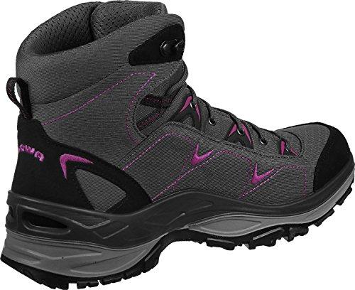 Lowa Ferrox GTX Mid W Zapatillas de senderismo gris rosa