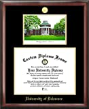 Campus Images ''University of Delaware Embossed Diploma'' Frame with Lithograph Print, 12'' x 16'', Gold