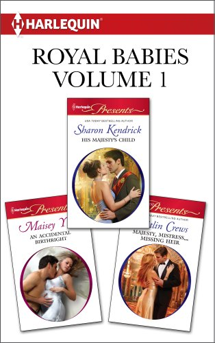 book cover of Royal Babies Volume 1 from Harlequin