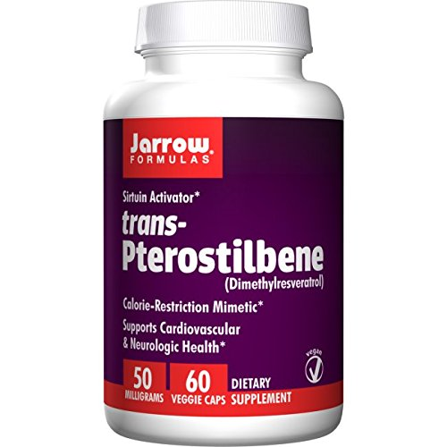 Jarrow Formulas Inc Trans Pterostilbene Caps