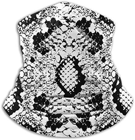 Snake Skin 1 ネックカバー 日焼け防止 バンダナ 防寒 防風 防塵 花粉 フェイスガード 多機能 日よけ サイクリングカバー