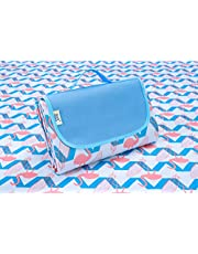 Beach Blanket, Waterproof Sandproof Picnic Outdoor Rug Mat( 57 x 79 inches/ 145 x 200 cm )- Portable Foldable Large Beach Mat Picnic ware for Camping,Family Day Out, Travel, BBQ,Sports