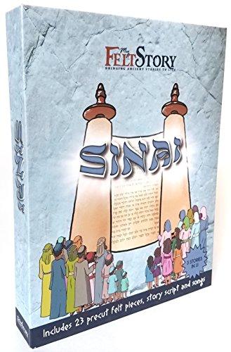 My Felt Story - Sinai, 23 Precut Felt Pieces, Shavuot