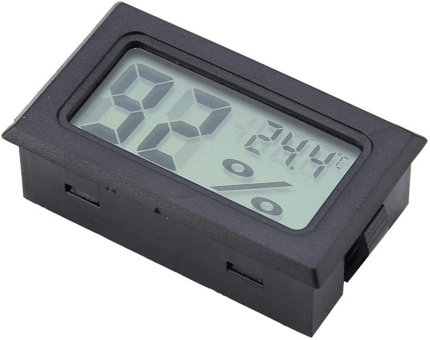 Humidity Gauge Digital Hygrometer Thermometer Humidity Monitor for Greenhouse for Reptile