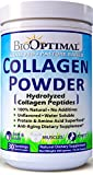 BioOptimal Collagen Powder, Collagen Peptides Grass Fed (300 Grams) Non-GMO Premium Quality Hydrolyzed
