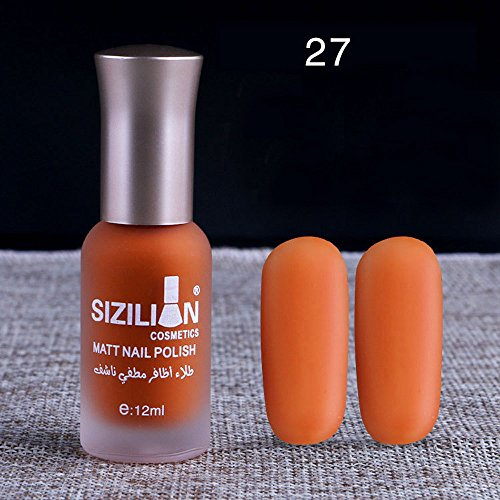 Chiodo 20 Opaco Nail Opaca Opaco Unghie 27 Art Smalto Smalto Veloce Durata Lunga Zolimx Colori E 12ml q1OxwBEt