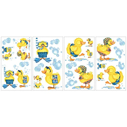 Bath Wall Stickers 29 Decals Rubber Duckies Bathroom. from Wall Decal