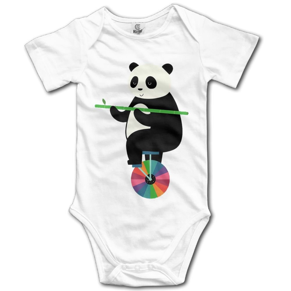Rainbowhug Panda Animals Unisex Baby Onesie Cute Newborn Clothes Funny Baby Outfits Soft Baby Clothes