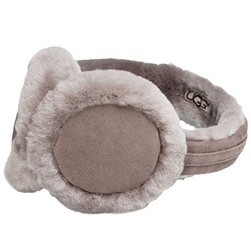 Ugg Shearling Hat - UGG Women's Classic Earmuff with Speaker Technology Stormy Grey One Size