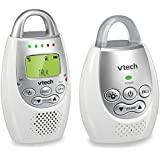 VTech BA72211GY Gray Audio Baby Monitor with up to 1,000...