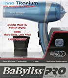 BaBylissPRO Nano Titanium Hair Dryer