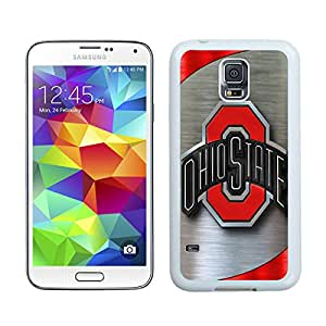 Ncaa Big Ten Conference Football Ohio State Buckeyes 9 White For Samsung Galaxy S5 Case Genuine and Cool Design