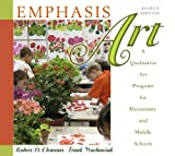 img - for Emphasis Art: A Qualitative Art Program for Elementary and Middle Schools (with MyEducationLab) (9th Edition) book / textbook / text book