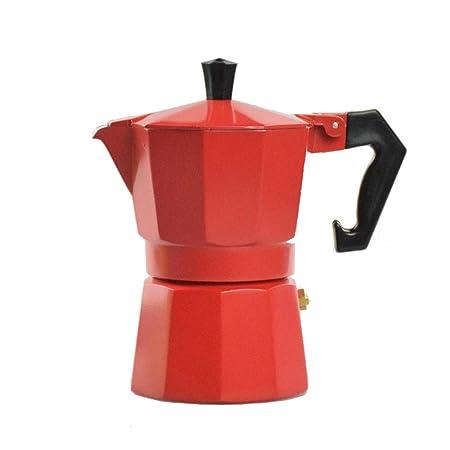Moka Coffee Pot, estufa espresso cafetera con válvula de ...
