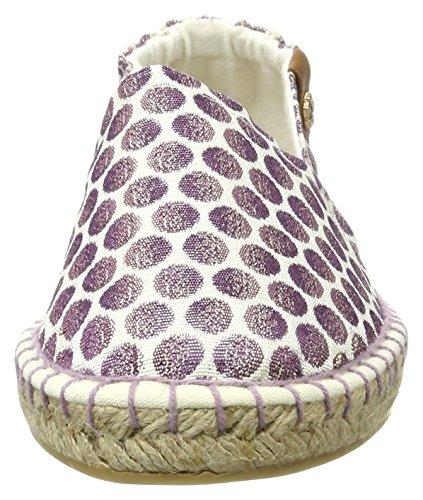 Tamaris Women's 24610 Loafers Purple (Wht/Laven.dots 152) SOPiXSv