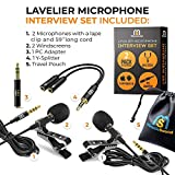 2-Pack Bundle Ultimate Lavalier Microphone for
