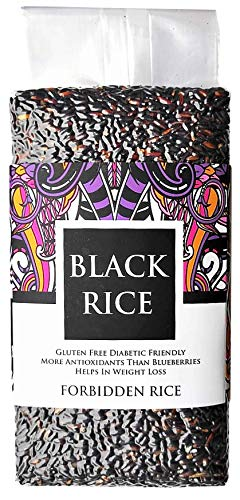 FOR8 Aromatic Black Rice - Forbidden Rice - 900g