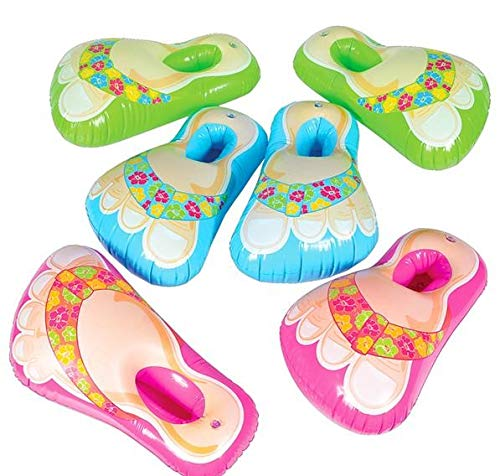 (Inflatable Flip Flop Sandal Feet Assorted Colors)