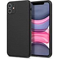 BESTY iPhone 11 Case Black Liquid Air Armor Designed Pattern [Shock Absorption and Anti-Scratch] Soft Black Case (11)
