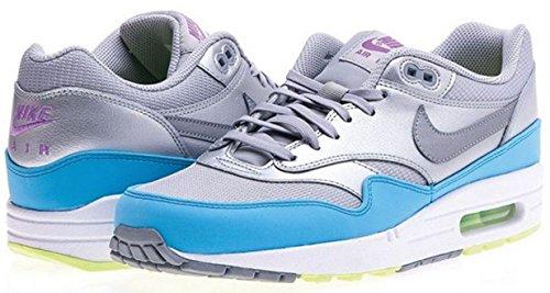 Nike Air Max 1 FB 579920-004 Silber-Grau-Hellblau Größe 47,7 US 13 UK 12 31 cm