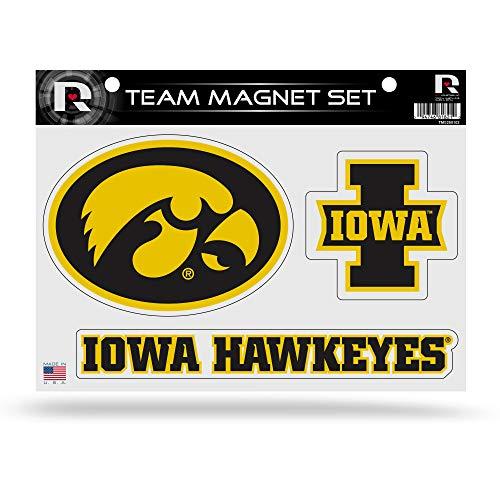 NCAA Iowa Hawkeyes Die Cut Team Magnet Set Sheet