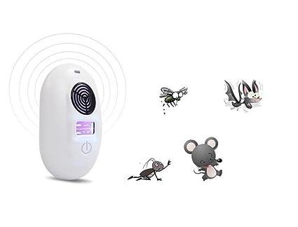 repelentes ultrasónicos Ahuyentador de roedores de parásitos ultrasónicos-fuente de alimentación USB, vida acogedora