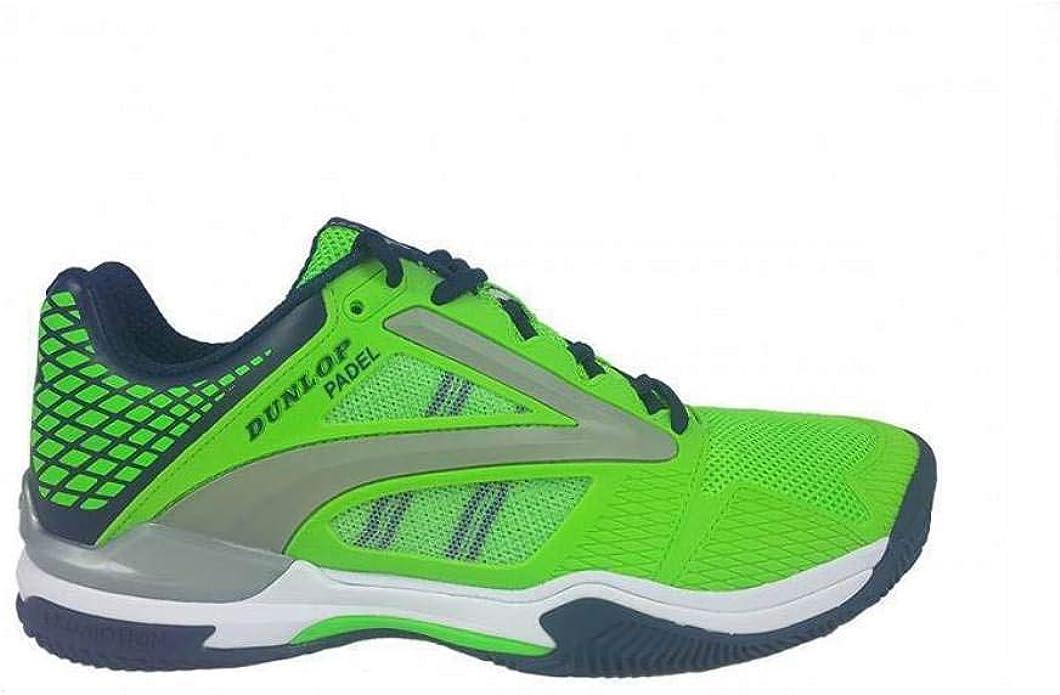 Dunlop Zapatillas Tenis/Padel Extreme Verde Hombre (44): Amazon.es ...