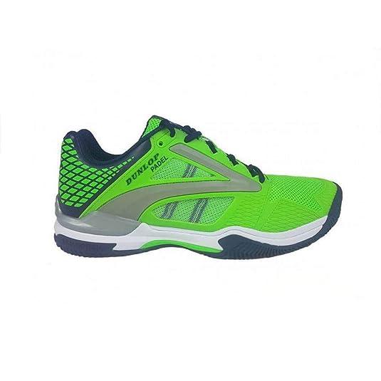 Dunlop Zapatillas Tenis/Padel Extreme Verde Hombre: Amazon.es: Zapatos y complementos