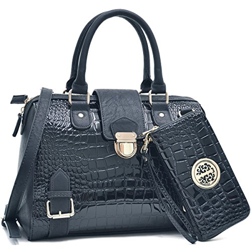 Leather Fashion Designer Handbags - 1