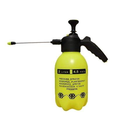 Rociador de riego neumático de boquilla larga de 2L, botella de ...