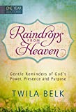 img - for Raindrops from Heaven: Gentle Reminders of God's Power, Presence and Purpose by Twila Belk (2015-02-01) book / textbook / text book