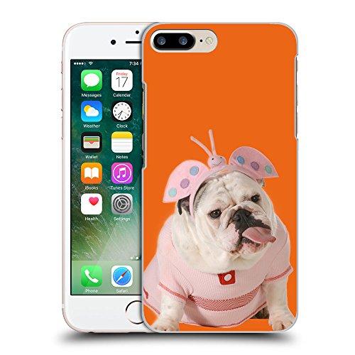 GoGoMobile Coque de Protection TPU Silicone Case pour // Q05800632 Bulldog anglais Arancione sicurezza // Apple iPhone 7 PLUS
