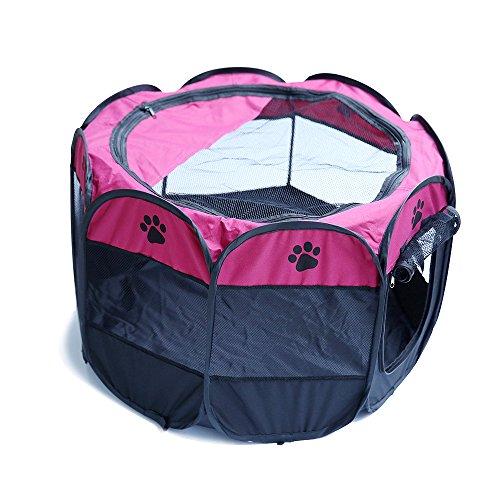 Youjia animali box trasportino per cani domestici gabbia for Trasportino per cani amazon