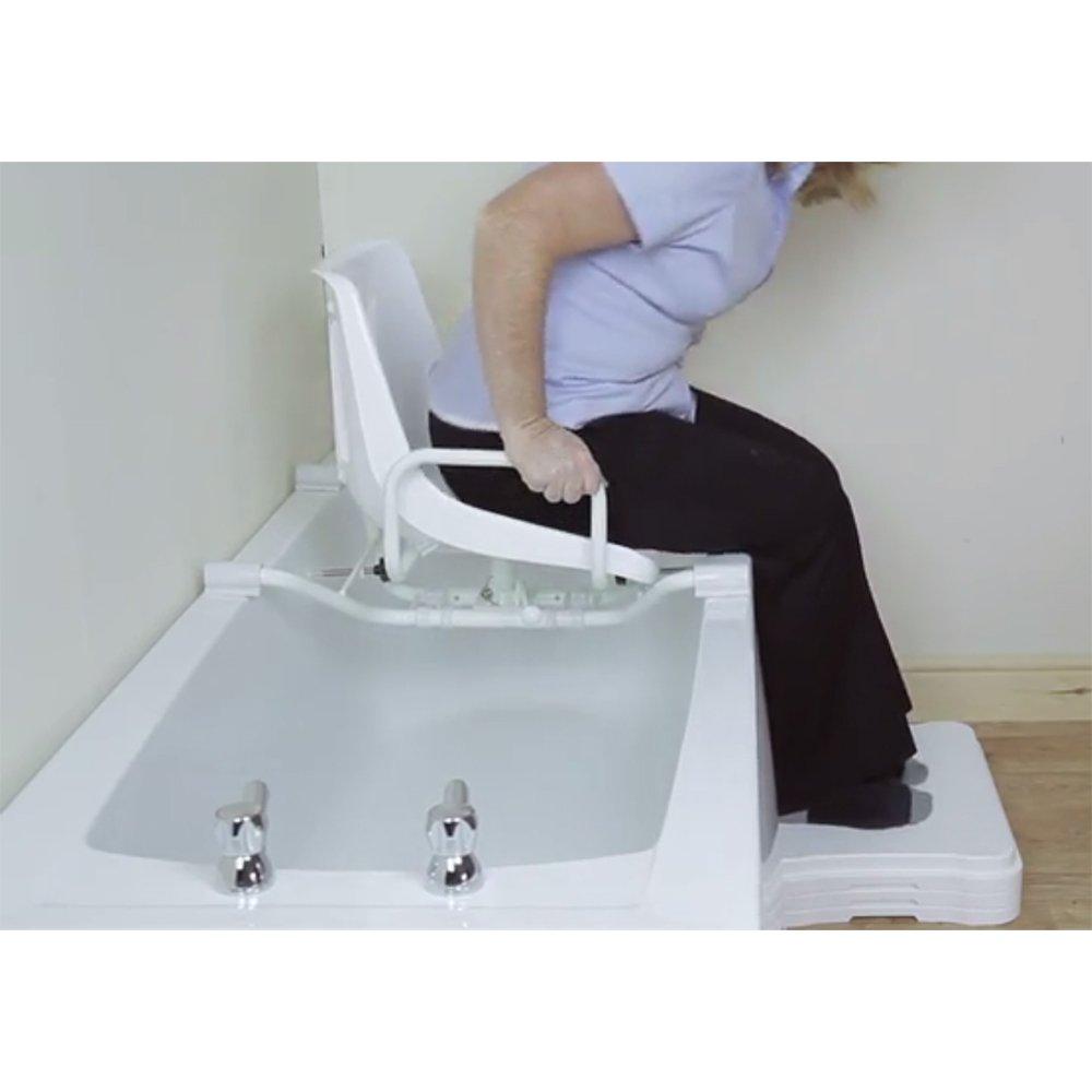 NRS Healthcare Swivel Bathseat - Adjustable Width (Eligible for VAT ...