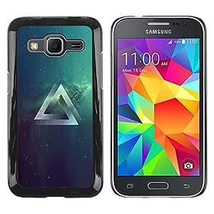 Stuss Case / Funda Carcasa protectora - Psychedelic Grometry Triángulo del espacio - Samsung Galaxy Core Prime