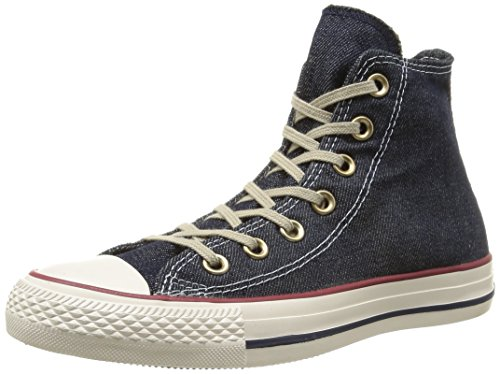 Bleu Denim Converse Washed Ctas Navy Baskets Hi adulte mode Core mixte RgRzxw0q
