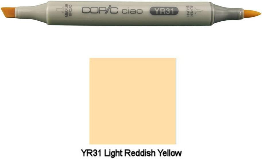 Copic Ciao YR31 - Rotulador de doble punta, color amarillo: Amazon.es: Hogar
