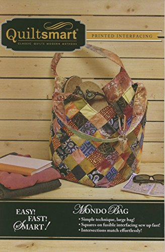Mondo Bag Fun Pack - Pattern and Printed Interfacing by Quiltsmart