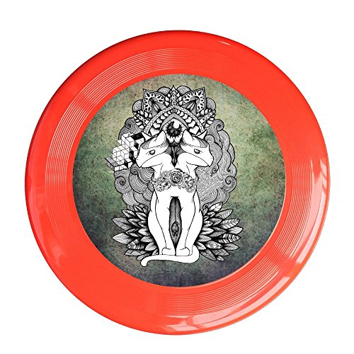 SAXON13CAP New Design Pussy Cats 150g Red Toys Flying Disc (Pussycat Dolls Workout Video)