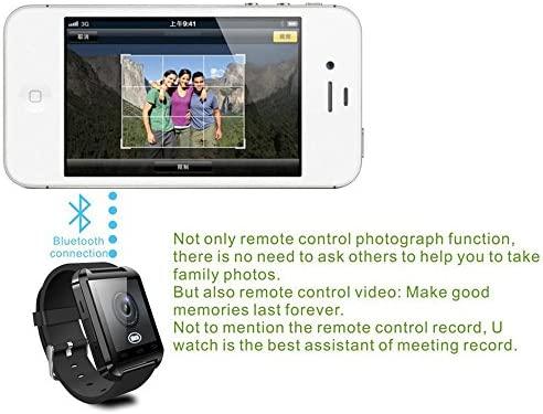 EasySMX Reloj Inteligente de Bluetooth Smartwatch para los Smartphones de Android tales como Samsung S4/Note 2/Note 3 (Negro)