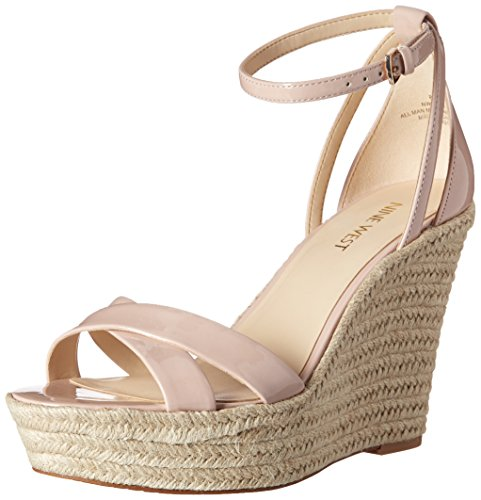 920b83b717f Nine West Women s Joker Synthetic Wedge Sandal - Buy Online in UAE ...
