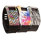 Band Cover for Fitbit Charge and Fitbit Charge HR Pack of 3