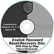 Ezalink Password Reset Recovery Disk for Windows 10, 8.1, 7, Vista, XP #1 Best Unlocker Remove Software CD DVD