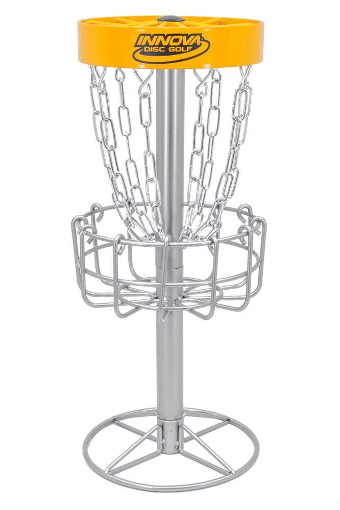 Innova Desktop Discatcher ミニディスクゴルフバスケット B07G8M9DBD  イエロー