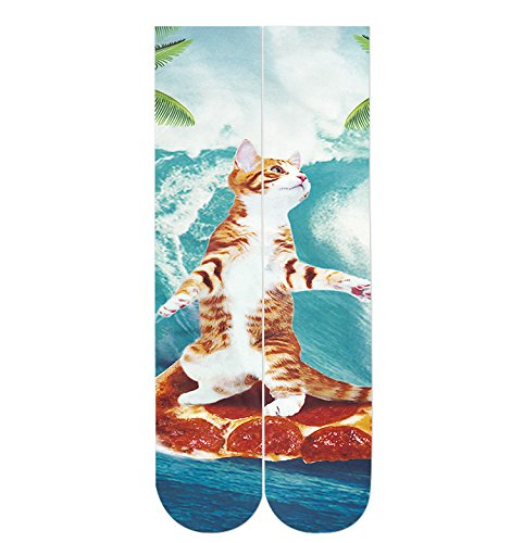 Goodstoworld Adult Unisex Novelty Amazing Crew Tube Athletic Casual Socks Sublimated Print