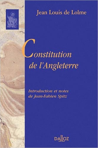 En ligne téléchargement gratuit Constitution de l'Angleterre: Réimpression de l'édition de 1822 epub pdf